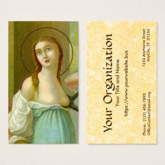 Cartão De Visitas Padrão do St. Agatha (M 003) FB