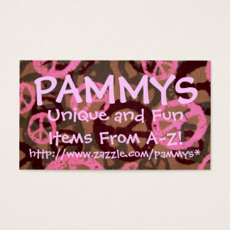 Cartão De Visitas PAMMYS, http://www.zazzle.com/pammys*..