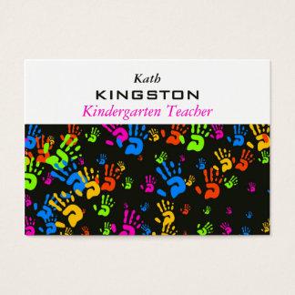 Cartão De Visitas Papel de parede das mãos