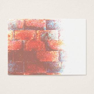 Cartão De Visitas Parede de tijolo. Digitas art.