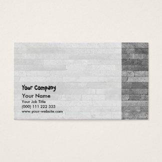 Cartão De Visitas Parede de tijolo do basalto