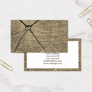 Cartão De Visitas Parte de cobrir da imagem da madeira