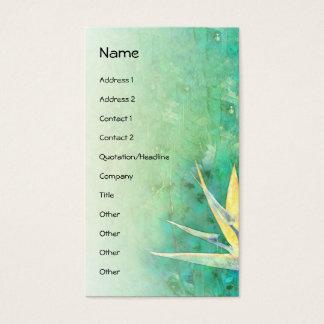 Cartão De Visitas Pássaro de paraíso