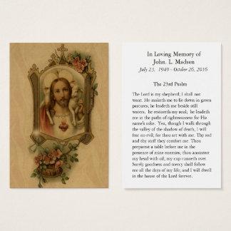 Cartão De Visitas Pastor de Jesus do coração sagrado memorável