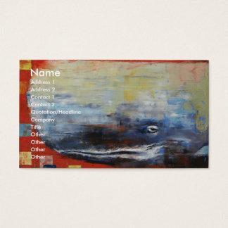 Cartão De Visitas Pau de Moby