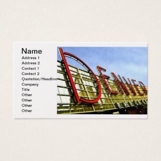 Cartão De Visitas Pavilhão de Denver