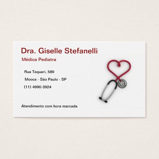 Cartão De Visitas Pediatria