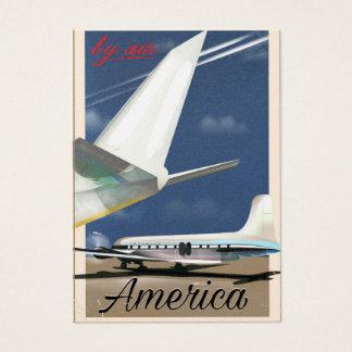 Cartão De Visitas Pelo ar - América