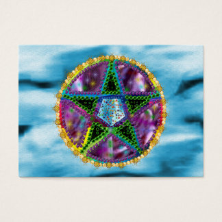 Cartão De Visitas Pentagram da bruxa