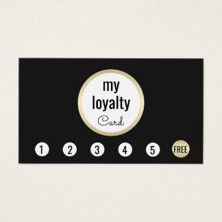 Cartão De Visitas Perfurador profissional da lealdade 6 do cliente