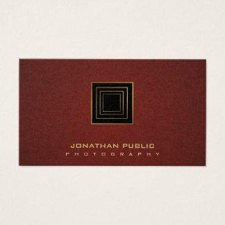 Cartão De Visitas Pérola à moda moderna do fotógrafo da fotografia