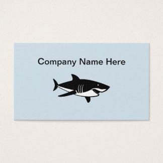Cartão De Visitas Pesca de mar profundo simples