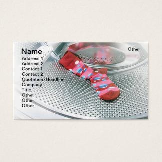 Cartão De Visitas Peúga vermelha