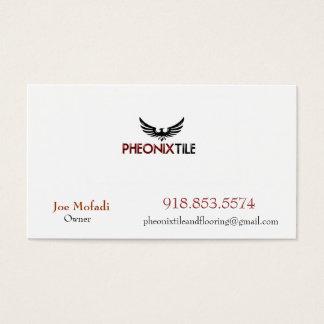 Cartão De Visitas Phoenix_4, AZULEJO de PHEONIX E REVESTIMENTO, Mofa