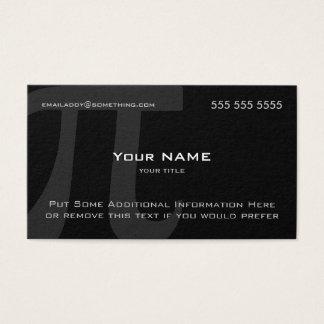 Cartão De Visitas Pi