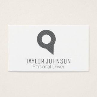 Cartão De Visitas Pin de localizador