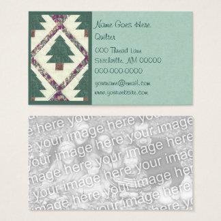 Cartão De Visitas Pinheiro acolchoado