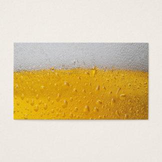 Cartão De Visitas Pinta da cerveja