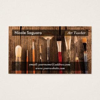 Cartão De Visitas Pintor do artista