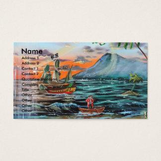 Cartão De Visitas Pintura de Bell do funileiro da angra do gancho de