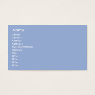 Cartão De Visitas Piscina - negócio
