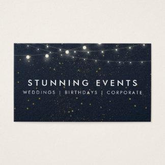 Cartão De Visitas Planejador do casamento & de evento