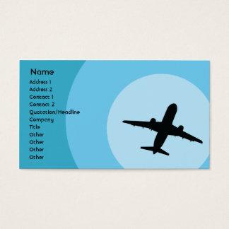 Cartão De Visitas Plano - negócio