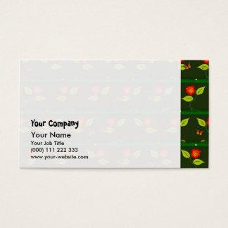 Cartão De Visitas Plantas e flores