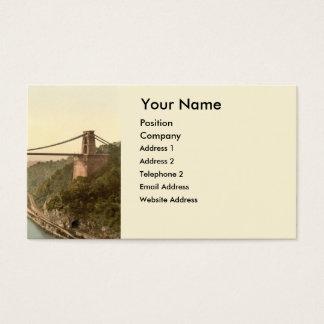 Cartão De Visitas Ponte de suspensão II de Clifton, Bristol,