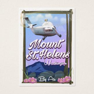 Cartão De Visitas Poster de viagens de Mount Saint Helens Washington