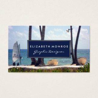 Cartão De Visitas Praia das caraíbas