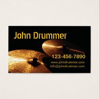 Cartão De Visitas pratos, baterista de John,