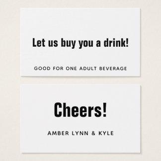 Cartão De Visitas Preto minimalista, editável nos bilhetes brancos
