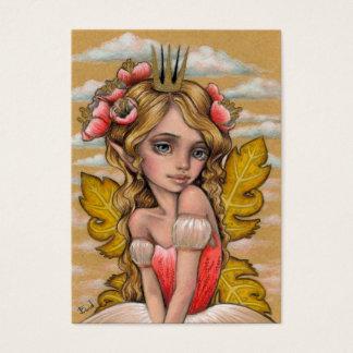 Cartão De Visitas Princesa Fae