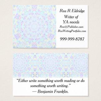 Cartão De Visitas Princesa Pastel Mandala