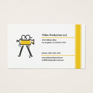 Cartão De Visitas Produção video