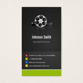 Cartão De Visitas Produtor do associado - inovativo criativo