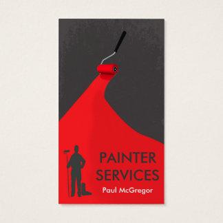 Cartão De Visitas Professional Painter Business Card