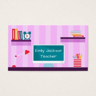 Cartão De Visitas Professor