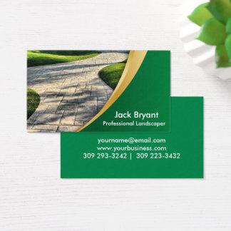 Cartão De Visitas Profissionais da paisagem
