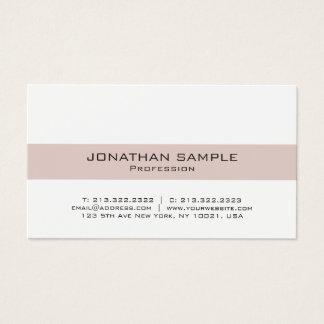 Cartão De Visitas Profissional elegante moderno do design de