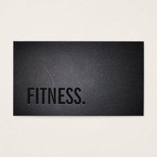 Cartão De Visitas Profissional escuro elegante do texto corajoso