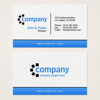 Cartão De Visitas Profissional moderno simples da parte inferior