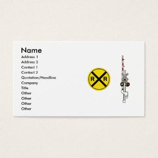 Cartão De Visitas Profissional ou Railfan da estrada de ferro
