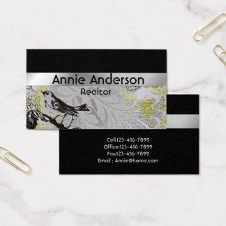 Cartão De Visitas Profissional simples minimalista moderno elegante