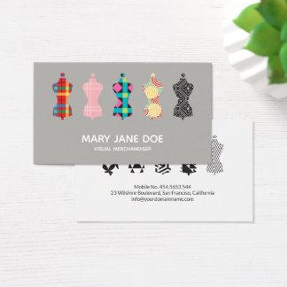 Cartão De Visitas Profissional visual do estilista do especialista