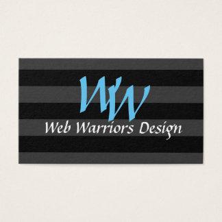 Cartão De Visitas Programador web simples e elegante