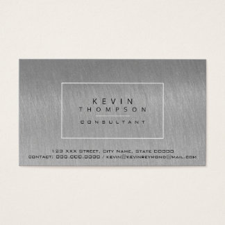 Cartão De Visitas projete seu próprio pro padrão dos cinzento-