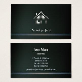Cartão De Visitas Projetos perfeitos do arquiteto |