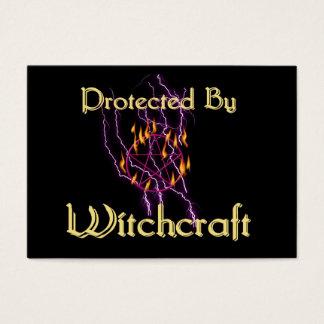 Cartão De Visitas Protegido pela feitiçaria